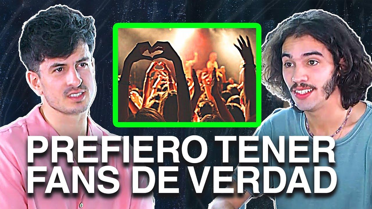 DAVUS 🎶 sobre CRECER LENTAMENTE VS. PEGARLA DE GOLPE (y que en 2 meses nadie te escuche)
