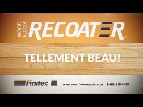 Publicité télé - Wood Floor Recoater