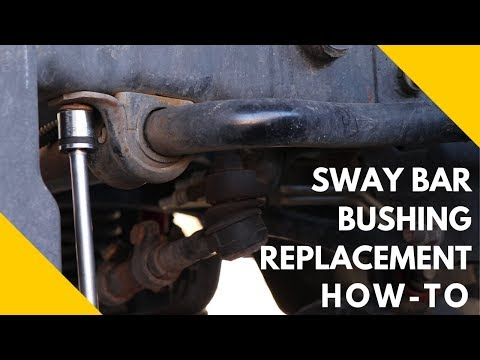 How To Replace Jeep JK Sway Bar Bushings