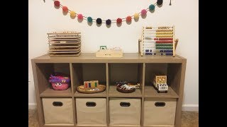 Shelf Activities For 12 To 18 Months   Montessori Inspired Shelf Work