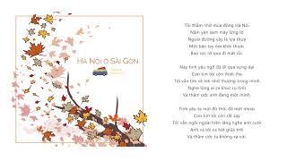 TRANG - Hà Nội Ở Sài Gòn (prod. by Khoa Vũ)