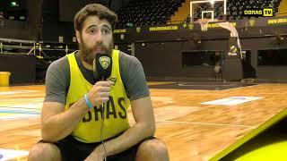 Tomás Zanzottera - Obras Basket (28-08-2017)