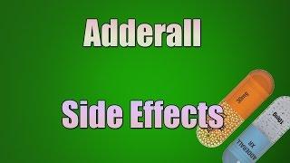 Adderall Side Effects (Dextroamphetamine/Amphetamine Mixture)