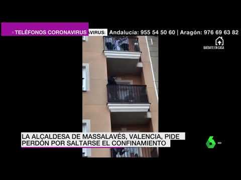 Unha alcaldesa valenciana sáltase o confinamento e celebra o San Xosé na rúa