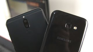 Mate 10 Lite vs Galaxy A5 (2017) - Camera Comparison