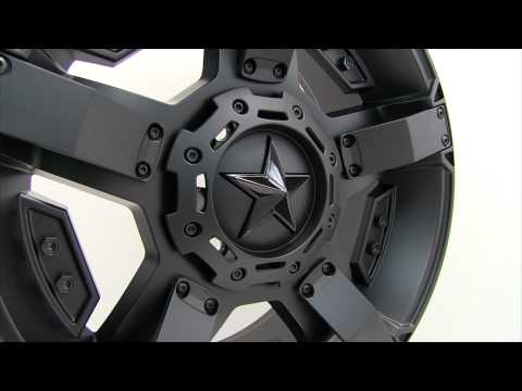 XD Series Rockstar II Matte Black Wheels Rims 20x9