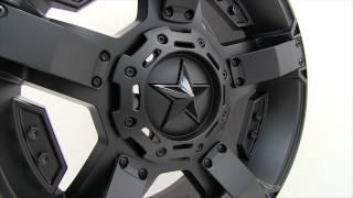Gambar cover XD Series Rockstar II Matte Black Wheels Rims 20x9