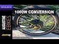 Electric Bike Review. 1000 watt, rear hub e-bike motor. 40 mph.