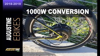 Electric Bike Review. 1000 watt, rear hub motor
