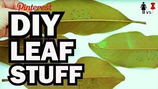 vermillionvocalists.com - DIY Leaf Stuff - Corinne Vs Pin #33