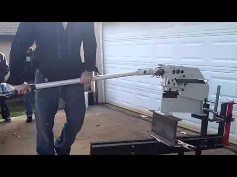 Baileigh SW-22M Manual Five Station Ironworker Shear Metal Iron