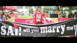 The Proposal: Run For Love (10th Cebu Marathon)