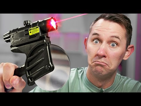 Thumbnail: Laser Pizza Slicer?! | 10 Ridiculous Tech Items