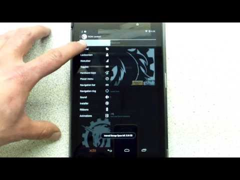 Nexus 7 ICE COLD (AICP) Nightly How-To/ROM Review