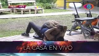GH 2016 30 07 Yasmila y Pato mimosos en