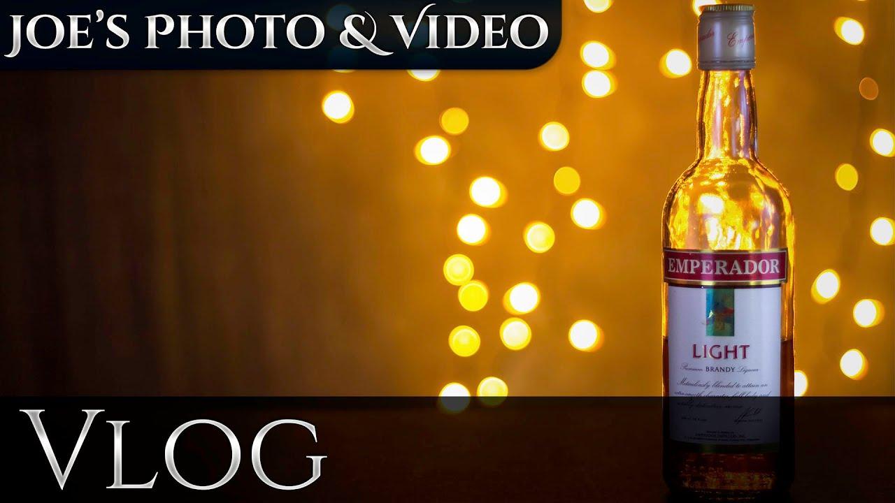 Creating Bokeh With Christmas Lights | Vlog