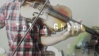 Video 【Violin Cover】Unravel (Tokyo Ghoul OP) ft. dj-jo【Umidori】 download MP3, 3GP, MP4, WEBM, AVI, FLV Mei 2018