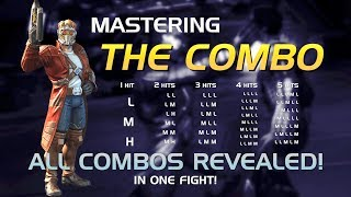All Basic Attack Combos (The Combo Drill) | Marvel Contest of Champions