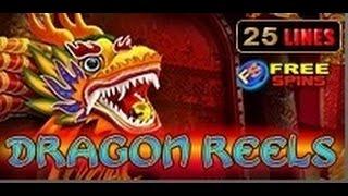 Dragon Reels - Slot Machine - 25 Lines + Bonus