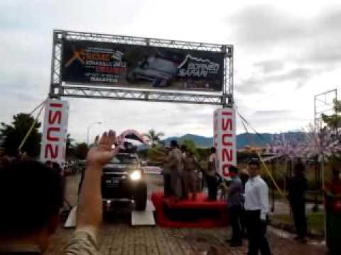 Borneo Safari 2012 flagg off