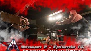 aaw pro wrestling season 2 episode 14 hooligans vs zero gravity plus colt cabana