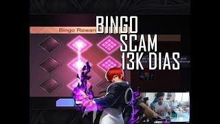 BINGO EVENT SCAM 13K DIAS SPENT IN MOBILE LEGENDS IORI SKIN - MOBILE LEGENDS