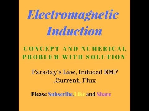 Electromagnetic Induction (Faraday's Law)\12th Class\IIT JEE &  Advance\NEET\AIIMS