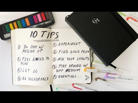 10 TIPS EVERY JOURNALING BEGINNERS SHOULD KNOW   ANN LE