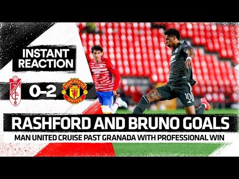 Rashford & Bruno GOALS: Job DONE | Granada 0-2 Man United