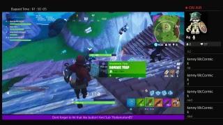 Ps4 FORTNITE live stream close encounter mode