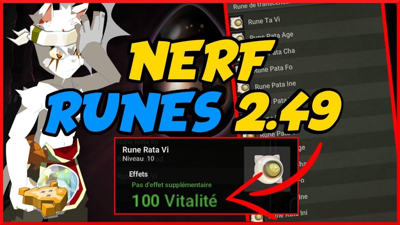 Les Nouvelles Runes 249 Vont Elles Casser La Forgemagie