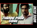Mandhira Punnagai - Thanni Poda song | Karu Pazhaniappan |  Meenakshi |  Santhanam