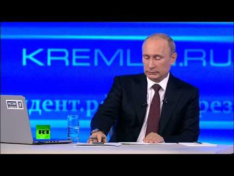 Путин: Очень надеюсь, что не придется пользоваться правом ввода войск на Украину