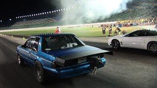 Small Tire NO PREP at NASCAR Track - Operation Octane