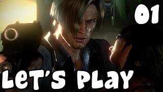 (Let's Play) Resident Evil 6 avec Naito75 #01 [Gameplay PC]