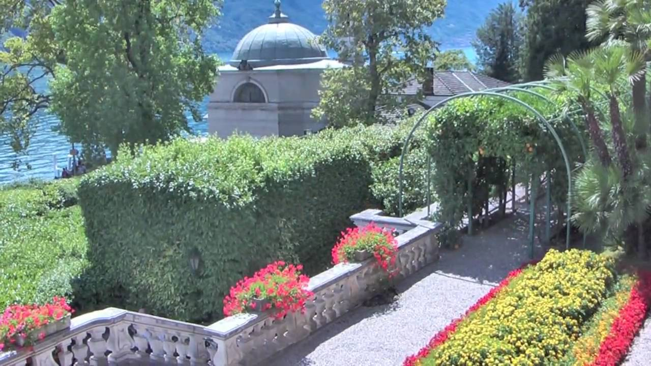Villa carlotta lago di como youtube for Lago villa del conte