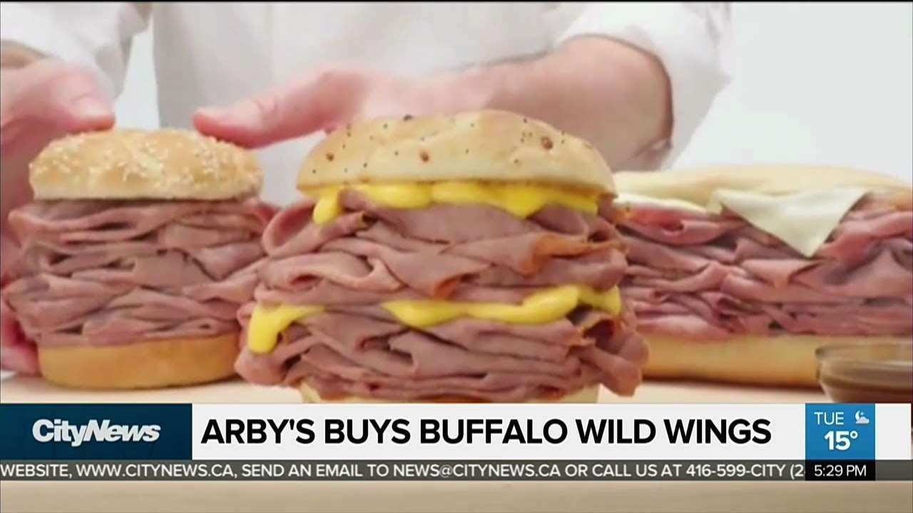 business report arby s buys buffalo wild wings youtube