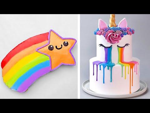 Amazing Unicorn Cake Decorating Ideas | Most Beautiful Rainbow Cake Tutorials | Perfect Cake