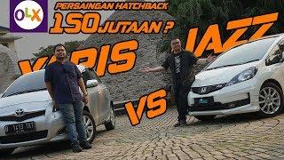 GIVE AWAY! Duel Panas Dua Hatchback Bekas: Honda Jazz GE dan Toyota Yaris NCP with Lugnutz