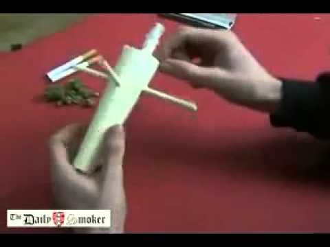 "How to roll a Joint ""windmill"" - YouTube"