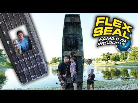 Testing Flex Seal!? (As Seen on TV)