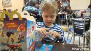 ХЭППИ МИЛ игрушки январь 2017 макдоналдс СУПЕРГЕРОИ - HAPPY MEAL 2017 Mc