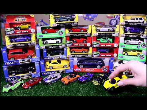 30 new small cars toys | Unpacking toy cars | Kids Toys