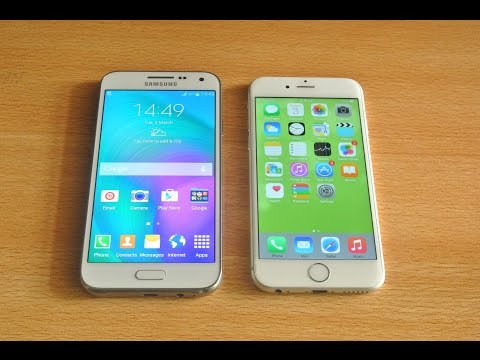 Samsung Galaxy E5 vs iPhone 6 - Full Comparison HD