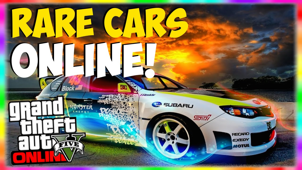 Gta Free Rare Cars Rare Car Locations Online Rare