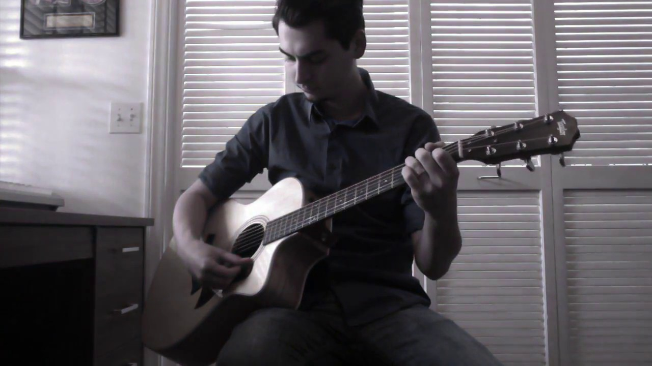 A Thousand Years Instrumental - Christina Perri | Guitar Cover by Dewey Roberts