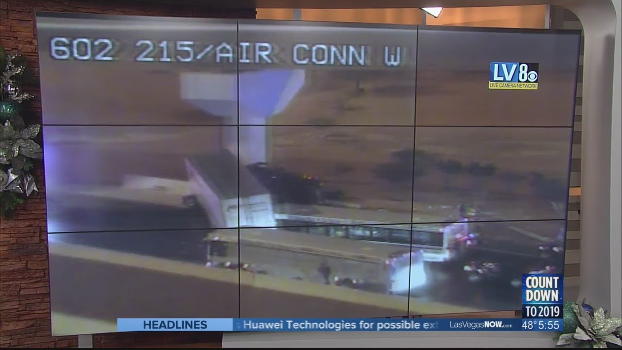 Crash on 215 Airport Connector