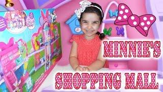 """Обзор Игровой набор """"Торговый центр Минни мауса"""". Review Play set """"Shopping center Minnie Mouse"""""""