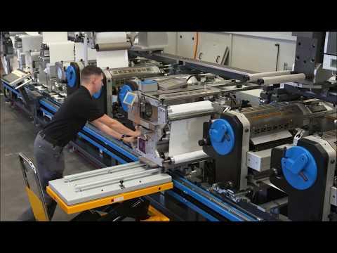 Screen-printing process change Gallus Labelmaster