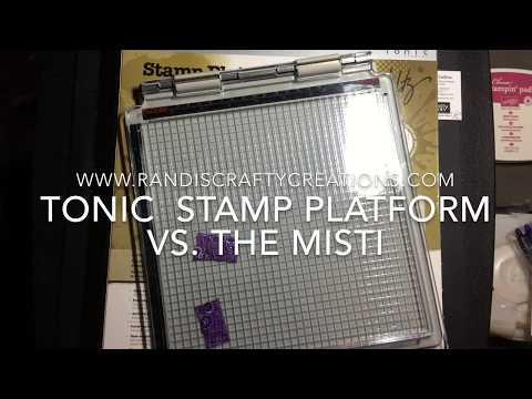 Tim Holtz Stamp Platform VS. The MISTI